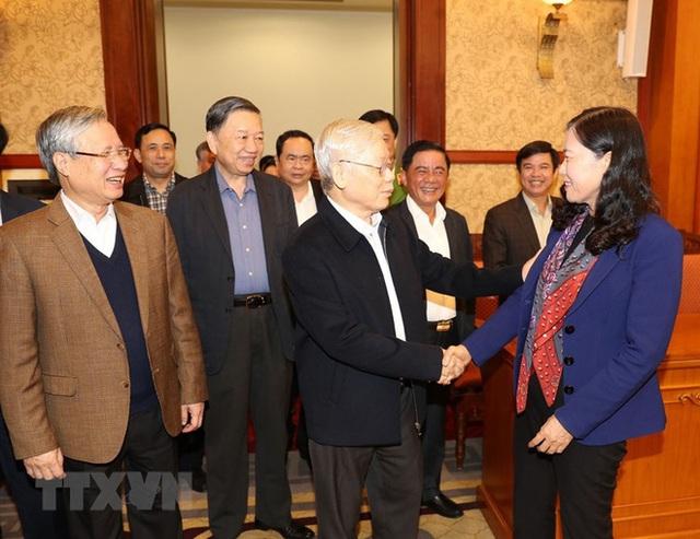 Tổng Bí thư, Chủ tịch nước chủ trì phiên họp về phòng chống tham nhũng - Ảnh 4.