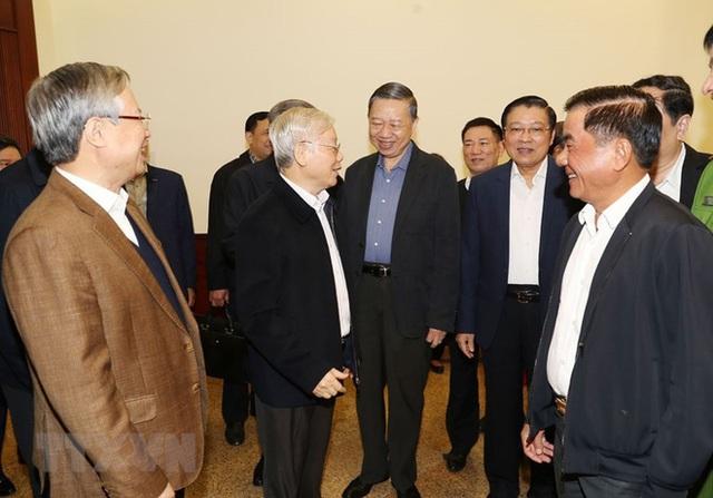 Tổng Bí thư, Chủ tịch nước chủ trì phiên họp về phòng chống tham nhũng - Ảnh 5.