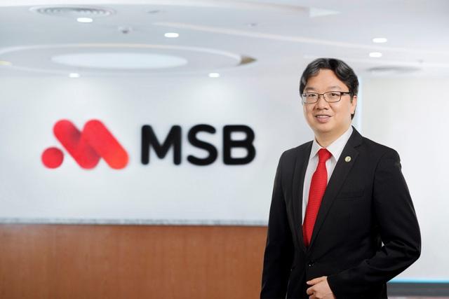 Ngân hàng MSB thay Tổng giám đốc - Ảnh 2.