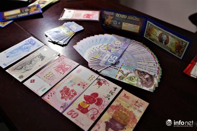 Độc đáo tiền lì xì in hình chuột hút khách trước dịp Tết Nguyên đán Canh Tý - Ảnh 9.