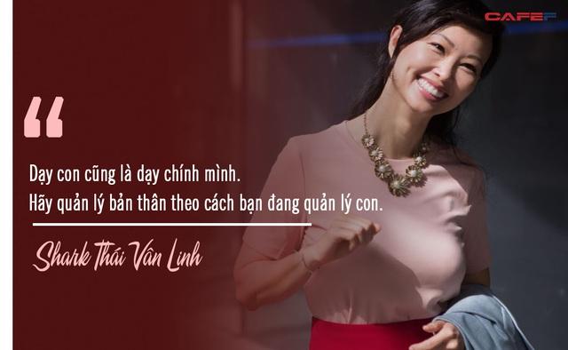 Shark Thái Vân Linh chia sẻ quy tắc để làm việc năng suất hơn: Dạy con cũng là dạy chính mình. Hãy quản lý bản thân theo cách bạn đang quản lý con - Ảnh 1.
