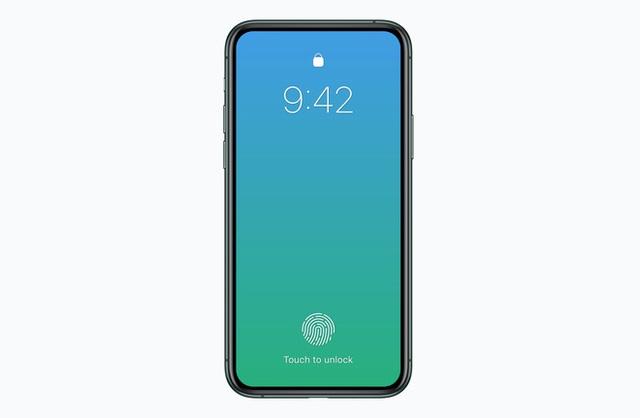 Apple có thể ra mắt iPhone không tai thỏ, Touch ID dưới màn hình vào năm 2020 - Ảnh 1.