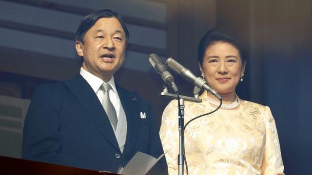Gia đình Hoàng gia Nhật tổ chức tiệc mừng năm mới, xuất hiện ấn tượng trước dân chúng, đáng chú ý nhất là màn đọ sắc giữa các thành viên nữ  - Ảnh 8.