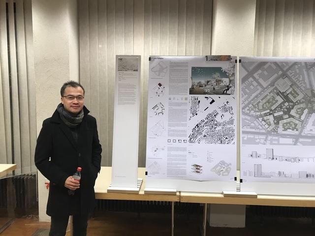 Nhóm kiến trúc sư Việt giành giải Nhất cuộc thi kiến trúc thiết kế quy hoạch tại Đức - Ảnh 2.