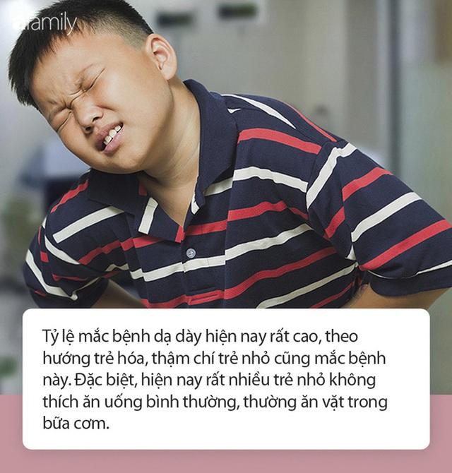 Cậu bé 6 tuổi đã bị ung thư dạ dày, nhắc nhở sau khi ăn xuất hiện 3 điểm bất thường cần phải đi khám - Ảnh 1.