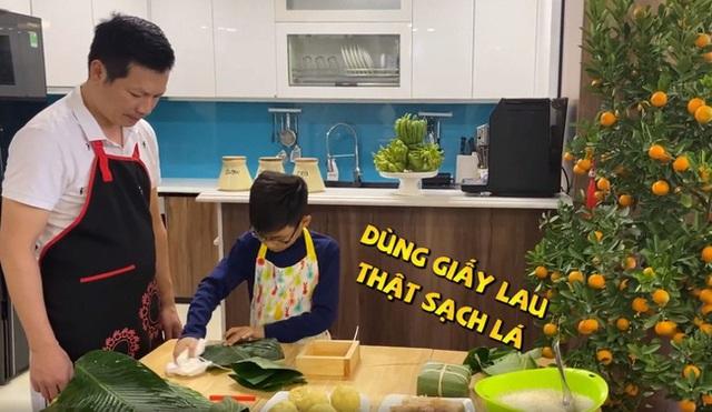 Lần đầu lộ diện con trai của Shark Hưng, vẻ ngoài của cu cậu mới là tâm điểm gây sốt - Ảnh 4.