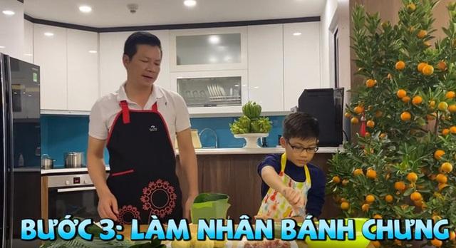 Lần đầu lộ diện con trai của Shark Hưng, vẻ ngoài của cu cậu mới là tâm điểm gây sốt - Ảnh 6.