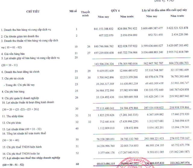 Dệt may Thành Công (TCM): Xuất khẩu kém tích cực, năm 2019 chưa hoàn thành kế hoạch lợi nhuận với 217 tỷ đồng - Ảnh 1.