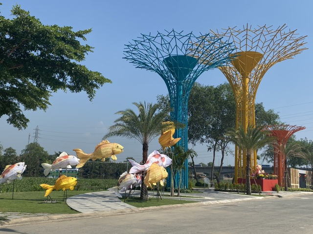 Rộn ràng Tết Việt ở chung cư, khu đô thị - Ảnh 12.