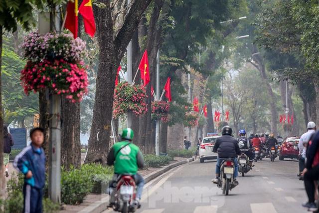 Đường phố Hà Nội trang hoàng đón Tết Canh Tý 2020 - Ảnh 13.