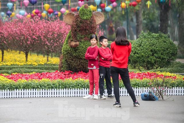 Đường phố Hà Nội trang hoàng đón Tết Canh Tý 2020 - Ảnh 5.