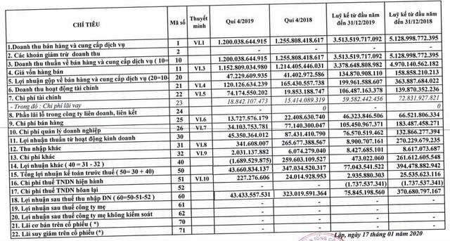 Không còn khoản chuyển nhượng dự án, Tín Nghĩa (TID) báo lãi quý 4 chưa bằng 1/7 cùng kỳ - Ảnh 1.