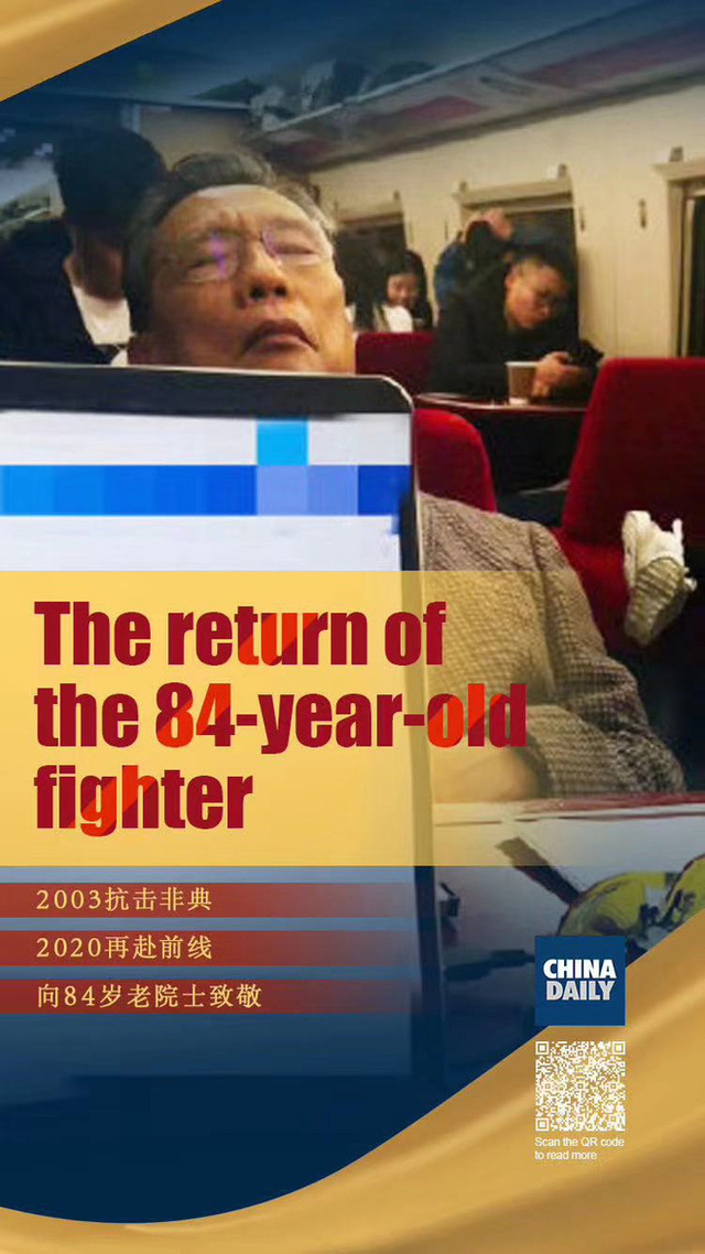 Những người tiến vào tâm dịch Vũ Hán: Anh hùng chống SARS 84 tuổi trở lại cuộc chiến với virus, nhà báo vượt qua nỗi sợ để đưa tin - Ảnh 3.