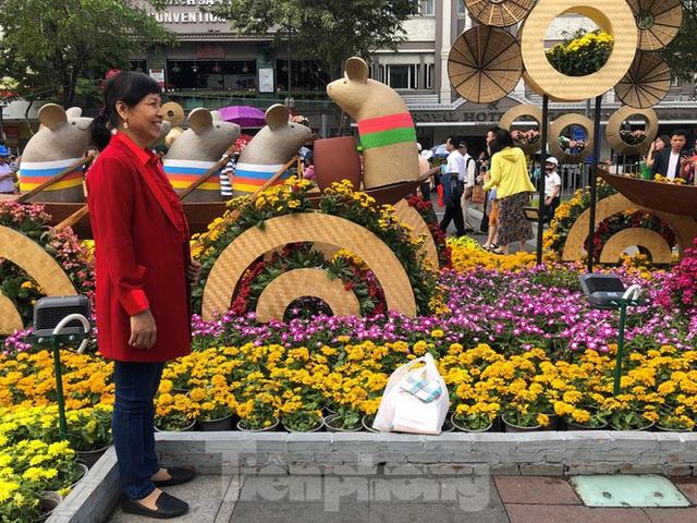 Vì sao tiểu cảnh ở phố đi bộ Nguyễn Huệ tả tơi - Ảnh 12.