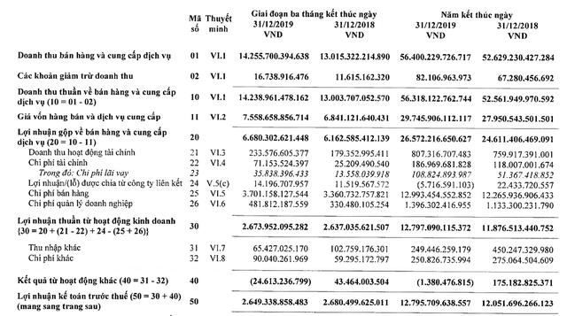 Vinamilk: Lãi ròng 2019 tăng 3,5% lên 10.581 tỷ đồng, nắm giữ hơn 15.000 tỷ đồng tiền gửi - Ảnh 1.