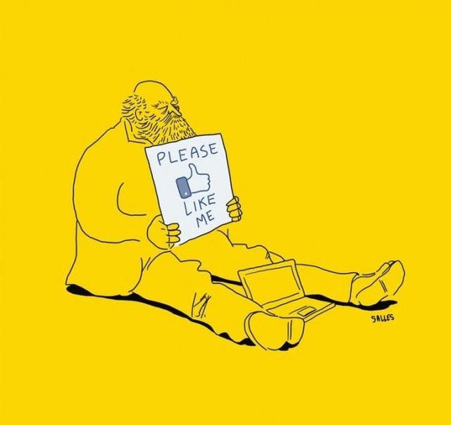 Dở khóc dở cười với hiện thực cuộc sống phũ phàng ẩn giấu trong tranh biếm họa của Eduardo Salles  - Ảnh 6.