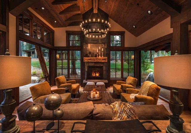 Ngôi nhà gỗ trên núi tuyệt đẹp, ai nhìn cũng thích mê - Ảnh 3.