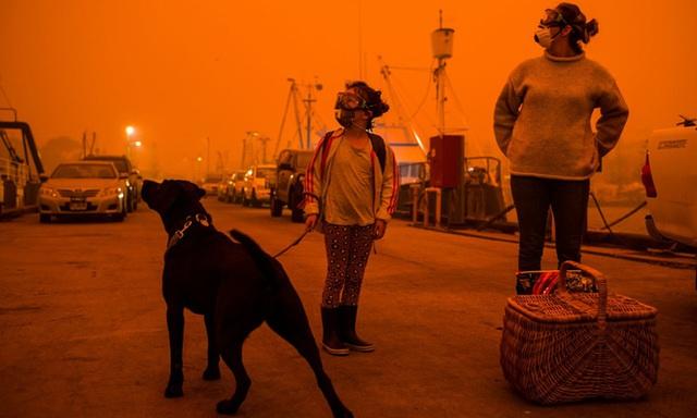 """Hành trình trốn chạy của gia đình Úc khỏi cháy rừng: Rời bỏ thị trấn """"Địa đàng"""", gói ghém đồ đạc lên xe và thuyền lang thang vô định - Ảnh 5."""