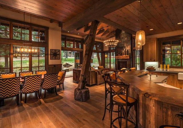 Ngôi nhà gỗ trên núi tuyệt đẹp, ai nhìn cũng thích mê - Ảnh 6.