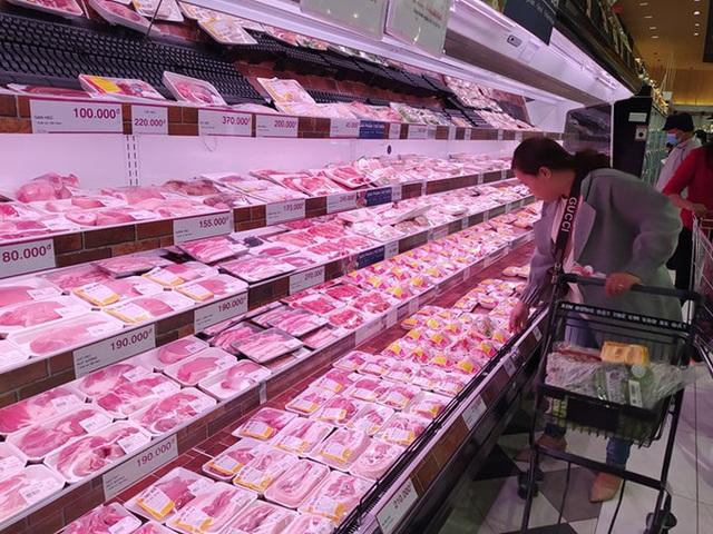 Lo thiếu hụt thịt heo dịp Tết, mở rộng nhập khẩu từ 50 doanh nghiệp Mỹ, Pháp, Bỉ - Ảnh 1.