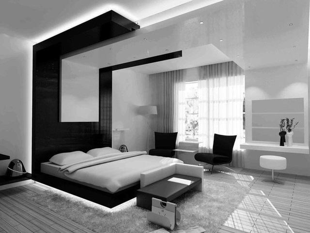 Căn hộ nội thất màu đen vô cùng huyền bí và sang trọng - Ảnh 5.