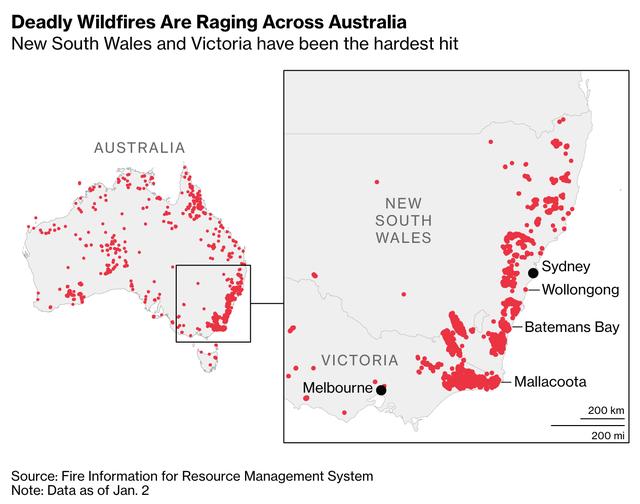 Những con số lột tả thảm họa cháy rừng khiến nước Úc và cả thế giới bàng hoàng - Ảnh 1.