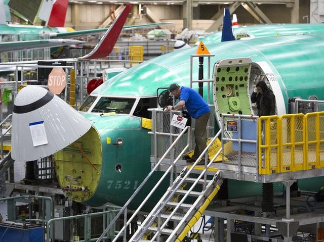 Hãng Boeing lớn tới mức quyết định dừng sản xuất máy bay là sẽ làm cả nền kinh tế Mỹ trì trệ - Ảnh 1.