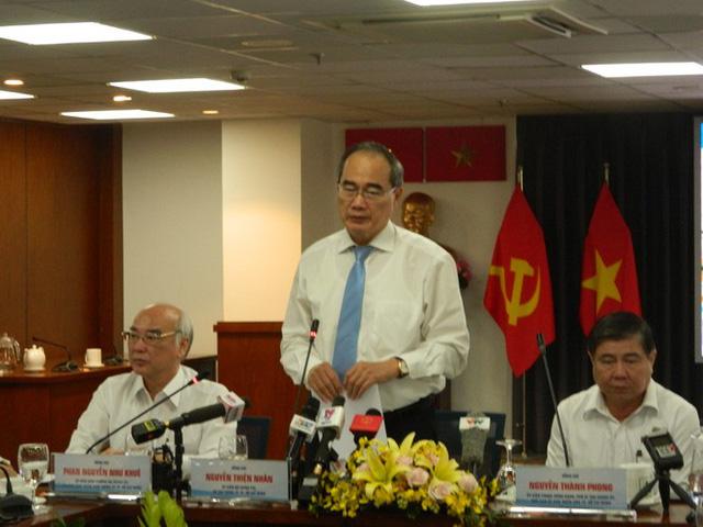 Bí thư TPHCM nói về việc xử lý ông Lê Thanh Hải, Lê Hoàng Quân - Ảnh 1.