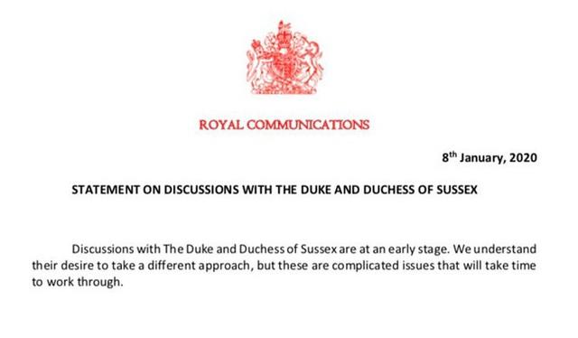 Rạn nứt hoàng gia: Nữ hoàng Anh giận dữ và thất vọng, đưa ra thông báo quan trọng trước quyết định đột ngột của vợ chồng Meghan Markle - Ảnh 2.