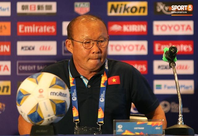 Họp báo VCK U23 châu Á 2020, Việt Nam vs UAE: Những sắc thái đặc biệt tạo nên thương hiệu của chiến lược gia Park Hang-seo  - Ảnh 5.