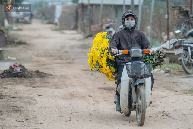 Đào Nhật Tân tấp nập xuống phố, người dân thích thú mua thưởng thức không khí Tết sớm - Ảnh 9.