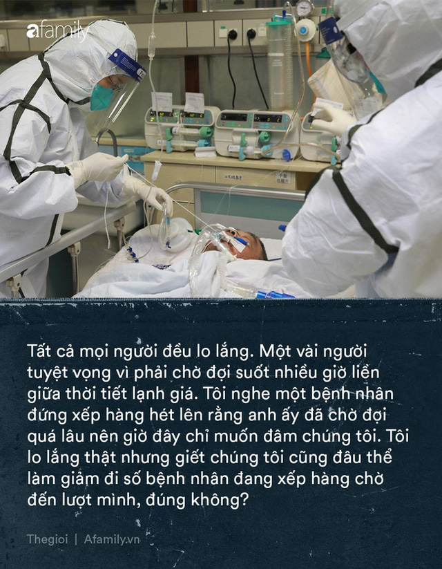Tận lực chiến đấu với bệnh tật, y bác sĩ Vũ Hán còn đối mặt với khó khăn từ thiếu trang thiết bị đến nỗi khổ thù trong giặc ngoài khó ai thấu - Ảnh 1.