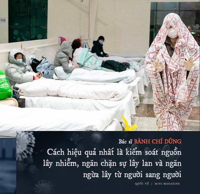 Chia sẻ của bác sĩ TQ về sự sống và cái chết ở Vũ Hán: Tôi đã khóc, có bệnh nhân quỳ xuống cầu xin tôi cho nằm viện - Ảnh 6.