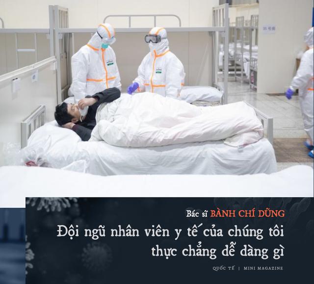 Chia sẻ của bác sĩ TQ về sự sống và cái chết ở Vũ Hán: Tôi đã khóc, có bệnh nhân quỳ xuống cầu xin tôi cho nằm viện - Ảnh 10.
