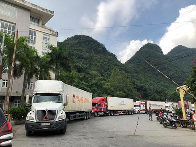 Hơn 500 container nông sản đang tắc ở cửa khẩu, chờ xuất sang Trung Quốc - Ảnh 1.