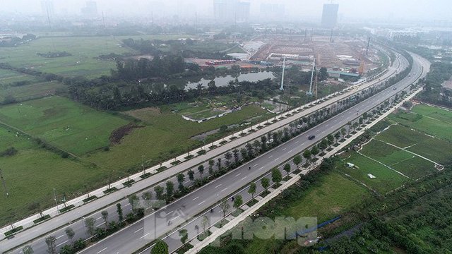 Cận cảnh tuyến đường nghìn tỷ nối liền Vành đai 3 với Cầu Bươu vừa thông xe - Ảnh 1.