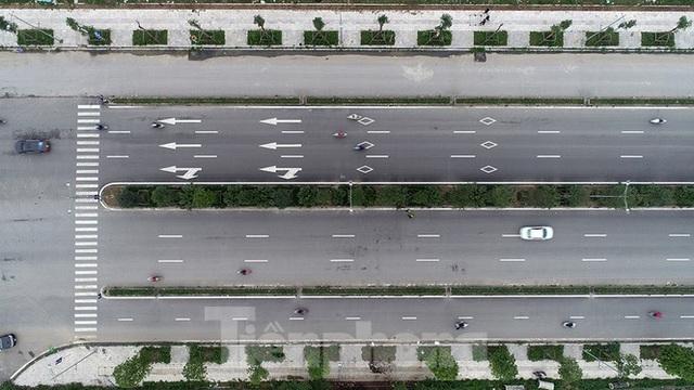 Cận cảnh tuyến đường nghìn tỷ nối liền Vành đai 3 với Cầu Bươu vừa thông xe - Ảnh 3.