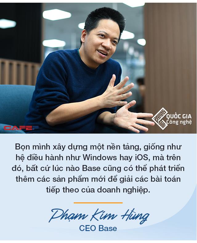 CEO Base Phạm Kim Hùng: Làm startup công nghệ muốn thành công thì cần nhất là chăm chỉ, làm việc từ 12 đến 16 tiếng/ngày trong nhiều năm - Ảnh 4.