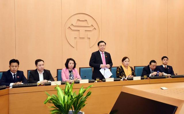 Ông Vương Đình Huệ làm Trưởng đoàn ĐBQH thành phố Hà Nội - Ảnh 1.