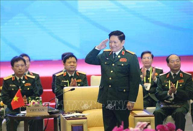Chùm ảnh khai mạc Hội nghị hẹp Bộ trưởng Quốc phòng ASEAN tại Hà Nội  - Ảnh 2.