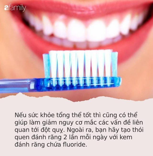 Cảnh báo: Những người bị chảy máu nướu răng có nguy cơ đột quỵ não cao gấp 2 lần người bình thường - Ảnh 1.