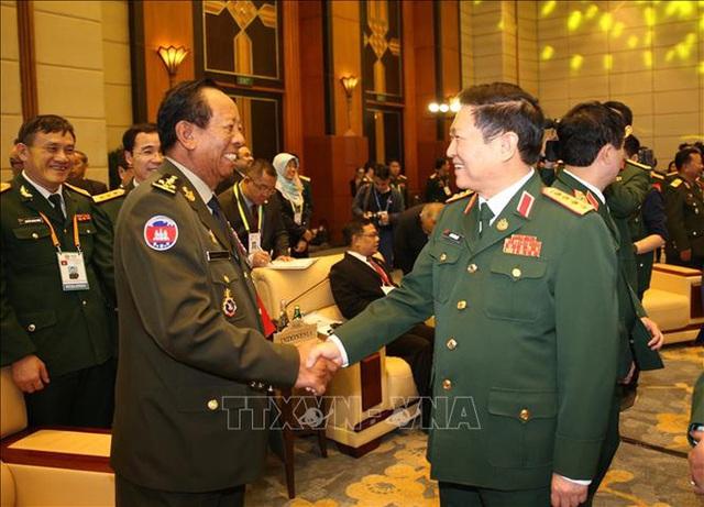 Chùm ảnh khai mạc Hội nghị hẹp Bộ trưởng Quốc phòng ASEAN tại Hà Nội  - Ảnh 5.