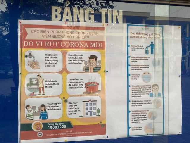 [Ảnh] Hà Nội: Các trường học vệ sinh, khử trùng để phòng dịch nCoV - Ảnh 18.