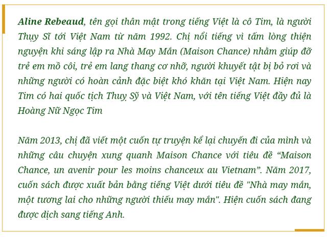 """Hoàng Nữ Ngọc Tim – người phụ nữ Thụy Sĩ dành trọn trái tim cho người khuyết tật Việt Nam: """"Bây giờ, tôi là người Việt Nam"""" - Ảnh 1."""