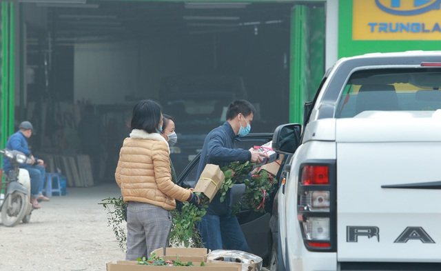 Xếp hàng từ 7h giờ sáng mua hoa hồng Đà Lạt 1.000 đồng/bông - Ảnh 13.
