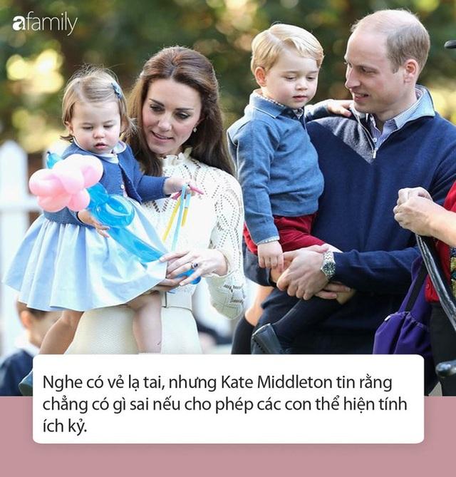 Nữ Công tước Kate Middleton thừa nhận có lỗi với con, nhưng cách dạy con của cô khiến nhiều người tâm phục khẩu phục - Ảnh 5.