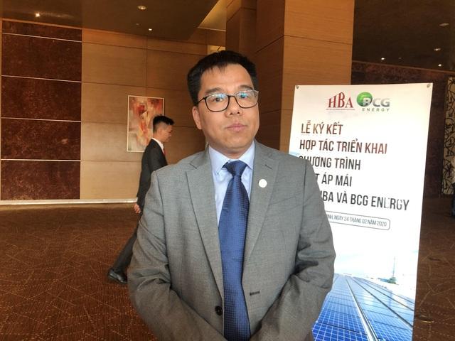 Chủ tịch HBA Nguyễn Văn Bé: Điện mặt trời áp mái không chỉ mang lại lợi ích thương mại mà thời gian hoàn vốn đã được rút ngắn phân nửa chỉ từ 5-7 năm - Ảnh 1.