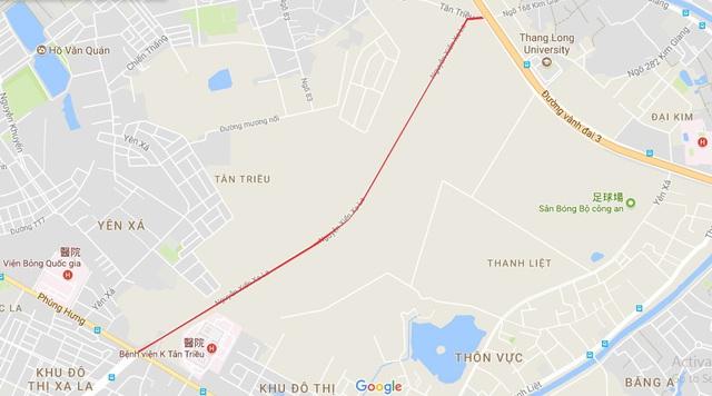 Toàn cảnh tuyến đường gần 1.500 tỷ đồng rộng 10 làn vừa thông xe ở Hà Nội - Ảnh 1.