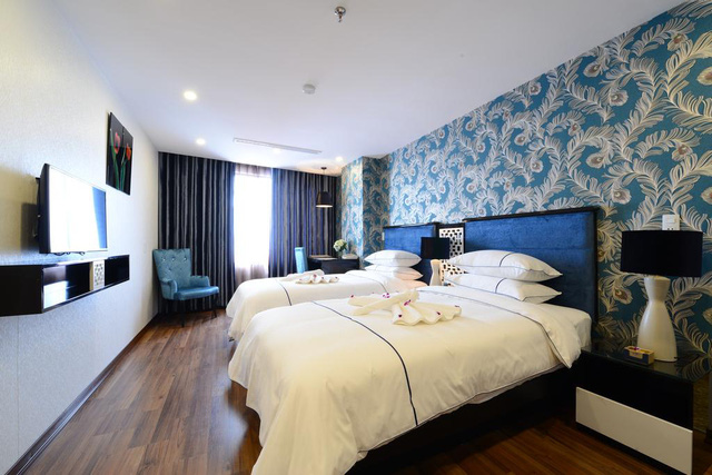 Cận cảnh khách sạn cho nhân viên nghỉ việc 4 tháng, trợ cấp 1,5 triệu đồng/người/tháng, lương sếp cũng như nhân viên vì Covid-19 - Ảnh 10.