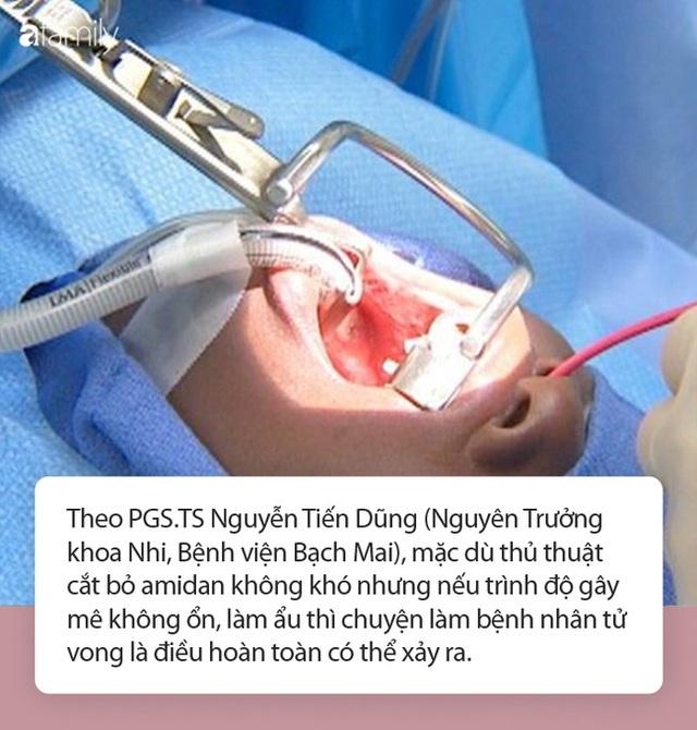 Bé gái 7 tuổi tử vong chỉ sau vài phút phẫu thuật cắt amidan, chuyên gia đưa ra một loạt cảnh báo - Ảnh 3.